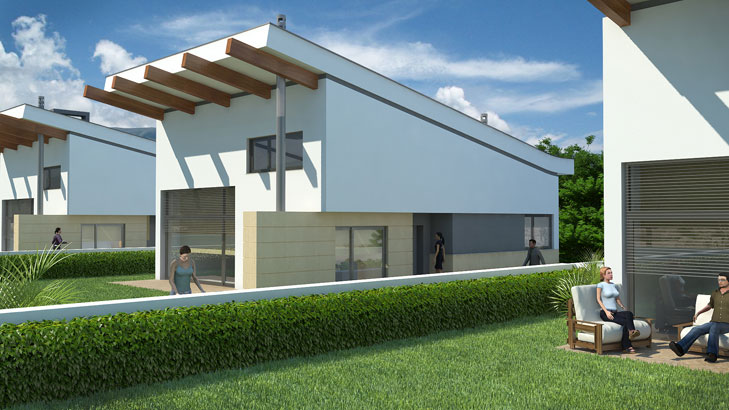 Atelier Arquitectura  MORADIAS JARDINS DE SANTIAGO
